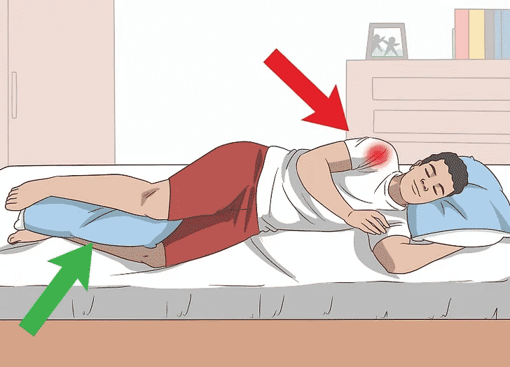 Get now sleeping tips for shoulder pain by Dr. Chandra Sekhar, Best Shoulder surgeon in Hyderabad