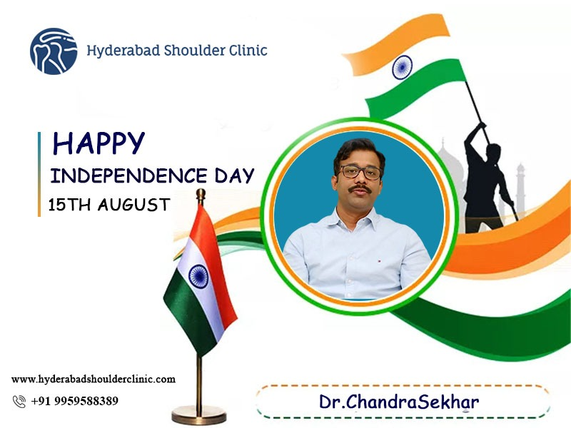 Dr. Chandra Sekhar Wishing You A Very Happy Independence Day