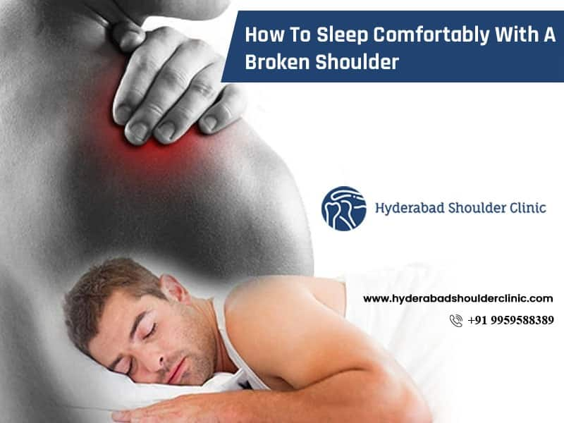 Consult Dr. Chandra Sekhar, to know the best sleeping positions for shoulder pain, One of the best Orthopedic shoulders dislocated specialists in Hyderabad