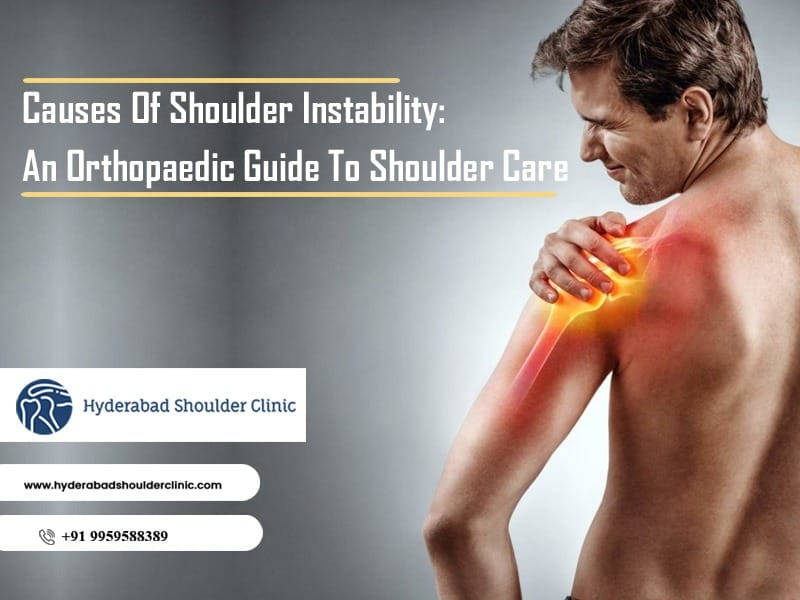 Consult Dr. Chandra Sekhar to Shoulder Instability and orthopedic shoulder care guide, Shoulder replacement clinic near me
