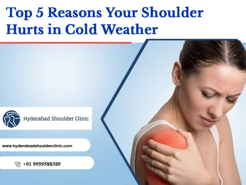 Know the main reasons for shoulder pain. Consult Dr Chandrashekar, one of the best Orthopaedic shoulder surgeons in Hyderabad
