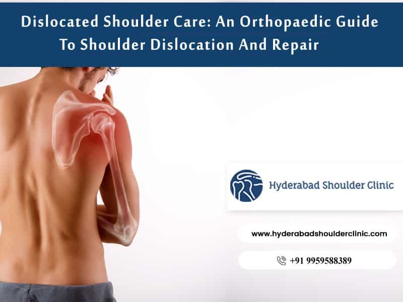 Best Dislocated shoulder surgery Center in Hyderabad, Sports injury treatment doctor near me