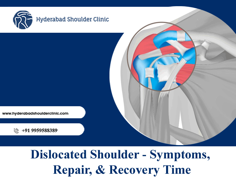 Consult Dr. Chandra Sekhar to know dislocated shoulder Symptoms and recovery timeline, best shoulder surgeon near me