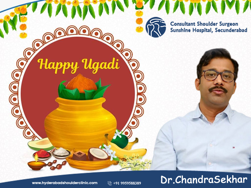 Happy Ugadi wishes by Hyderabad Shoulder Clinic, One of the best Shoulder specialty hospitals in Hyderabad