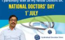 National Doctor's Day wishes by Dr. Chandra Sekhar, the best pediatric orthopedic doctor in Hyderabad