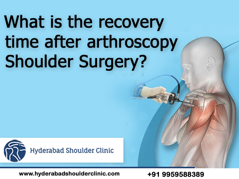 Consult Dr. Chandra Sekhar to know Arthroscopic shoulder surgery recovery time, One of the best Orthopedic shoulder surgeons in Hyderabad