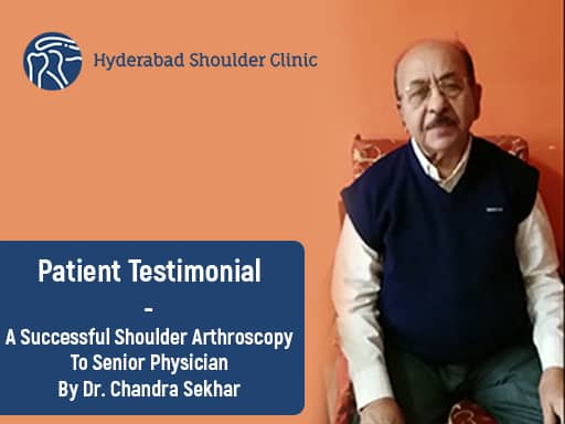 Dr Basavaiah senior physician Shoulder Arthroscopy testimonials edited cover