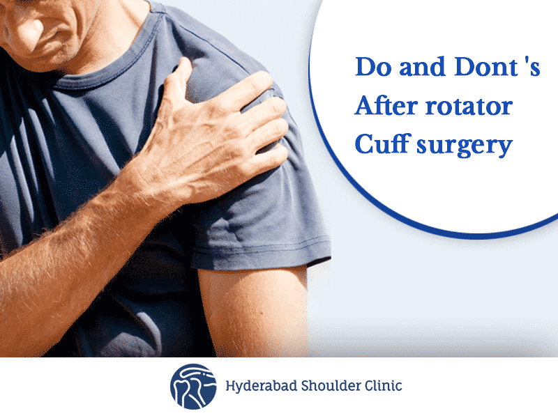 Best Rotator Cuff Repair Surgery Treatment Clinic in Hyderabad, dislocated shoulder surgeon near me