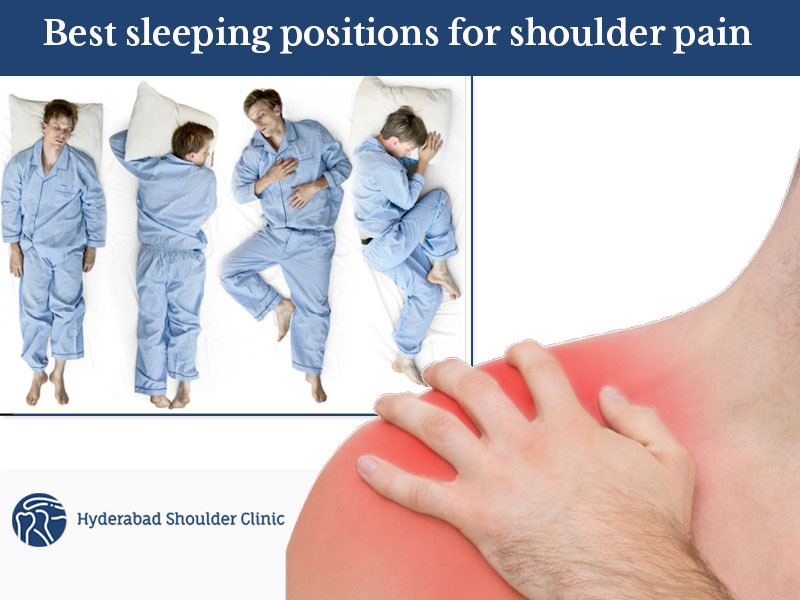 The Best Sleeping Positions to Wake up Pain-Free tips by Dr. Chandra Shekar, One of the best Shoulder replacement specialist in Hyderabad