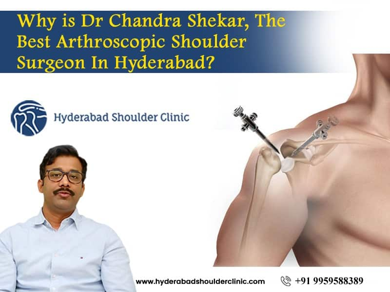 Meet Dr. Chandra Sekhar to choose the best Arthroscopic surgeon in Hyderabad, bone and joint doctor near me